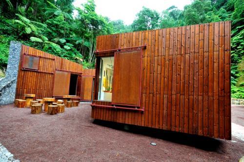 Centro de Interpretação e Monotorização Ambiental da Caldeira Velha –Ribeira Grande
